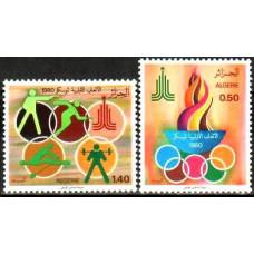 1980 Algeria Michel 753-754 1980 Olympiad Moskva 1.80 ?