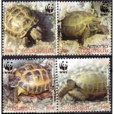 2006 Armenia Michel 561-564** Sea fauna 2.00 ?