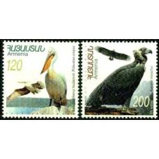 2007 Armenia Michel 627-28 Birds 2.10 ?