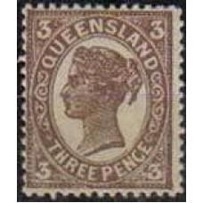 1897 Australia-Queensland Mi.99a ** Victoria 16.00 €