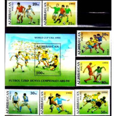 1994 Azerbaijan Michel140-46+147/B6 1994 World championship on football of USA 5.60 ?