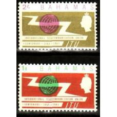 1965 Bahamas Michel 144-45** ITU 2.40 ?