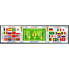 2002 Bangladesh Michel 797-7992002 World championship on football Japan and Korea 3.60 ?