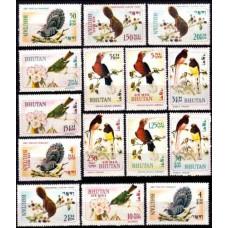 1968 Bhutan Mi.248-262 Rare birds 8.00 ?