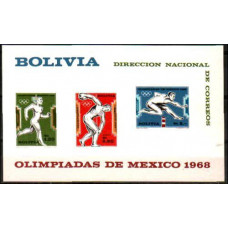 1969 Bolivia Michel 796-798/B27b 1968 Olympiad Mexiko 13.00 ?