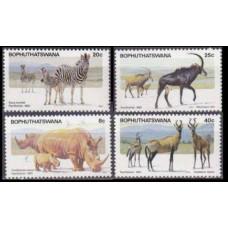 1983 Bophuthatswana Mi.100-103 Fauna 3,60 €