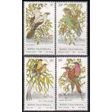 1980 Bophuthatswana Mi.60-63 Birds 3,80 €