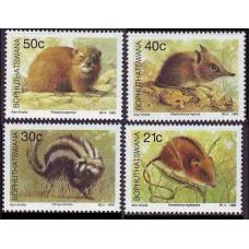 1990 Bophuthatswana Mi.235-238 Fauna 4,00