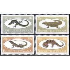 1984 Bophuthatswana Mi.129-132 Fauna 3,00