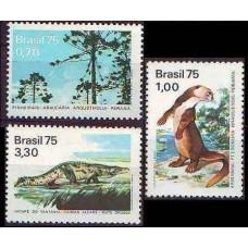 1975 Brazil Mi.1488-1490 Fauna 8.00 ?
