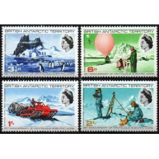 1969 British Antarctic Territory Mi.20-23 Continous scientific work 19,00 €