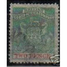 1895 British Sount Africa Michel 23 used 12.00 €