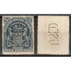 1898 British South Africa Michel 73 Fiscal perf.(used) 3,200.00 €