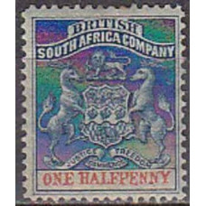 1892 British Sout Africa Michel 16* 4.00 €