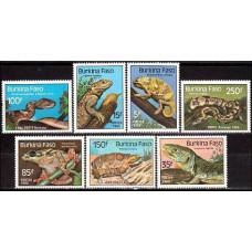 1985 Burkina Faso Michel 1005-1011 Fauna 11.00 ?