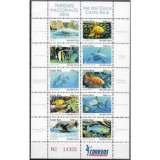2006 Costa Rica Michel 1632-41KL Sea fauna 36.00 €