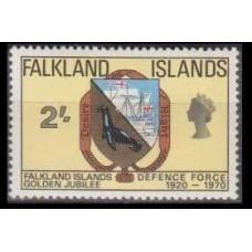 1969 Falkland Islands Mi.186 Fauna 7,50