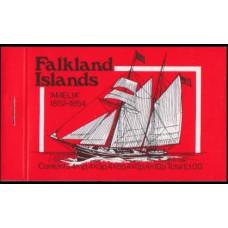 1978 Falkland Islands Mi.255,7,9,60,64/MH Ships with sails 10,00 €
