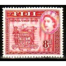 1953 Fiji Michel 123** Elizabet II 1.20 ?