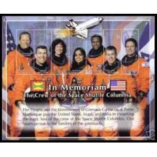 2003 Grenadines M3882-8KLTragedie Columbia 6.00 ?