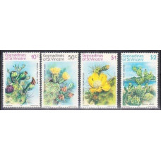 1982 Grenadines (St V) Mi.240-243 Flowers 4,20 €