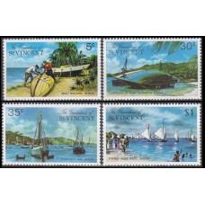 1974 Grenadines (St V) Mi.28-31 Ships with sails 1,50 €