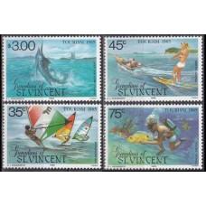 1985 Grenadines (St V) Mi.397-400 Sea fauna 4,70 €