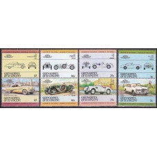 1984 Grenadines (St V) Mi.344-351Paar Automobiles 4,00