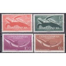 1954 Guinea Espanola Mi.303-306 Sea fauna 2,20 €