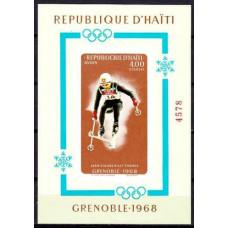 1968 Haiti Mi.995/B33b 1968 Olympiad Grenoble 25.00 ?