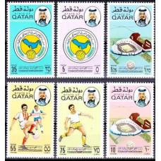 1976 Qatar Michel 679-684 Football 20.00 ?