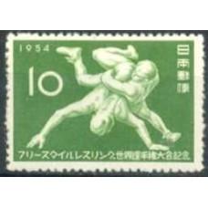 1954 Japan Mi.631 Sport 6.00