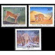 1998 Kazakstan Michel 229-31 Cats 4.60 ?