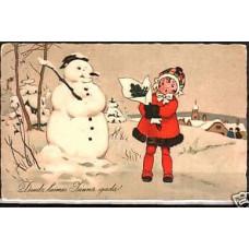 (35) 1922-33 Latvia Postcard