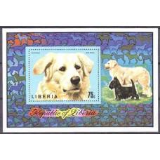 1974 Liberia Mi.920/B71 Dogs 4.50 ?