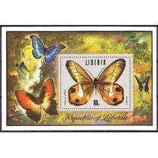 1974 Liberia Mi.936/B73 Butterflies 4.50 ?
