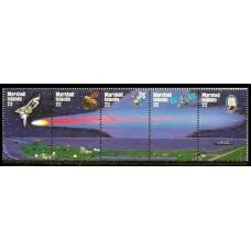1985 Marshall Islands Mi.62-66Strip Halley's Comet 10.00 ?