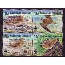1996 Marshall Islands Mi.830-833VB WWF 3.20 €