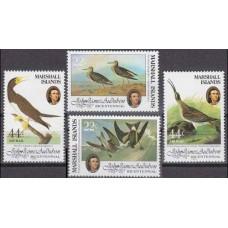 1985 Marshall Islands Mi.31-34 Audubon 5,00 €