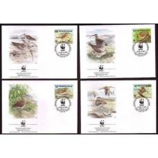 1996 Marshall Islands Mi.830-833FDC WWF 5,00 €