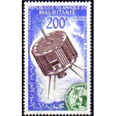 1963 Mauritania Mi.219 Satellite