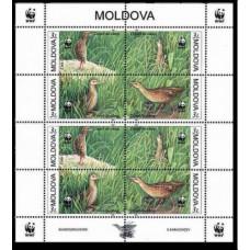 2001 Moldova Mi.379-382KL WWF 20.00 ?