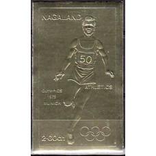 1972 Nagaland 1v gold 1972 Olympiad Munhen