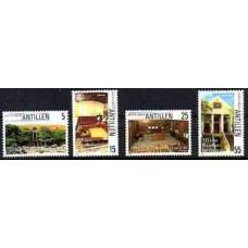 1986 Netherlands Antilles Mi.578-581 Architecture 2,80 €