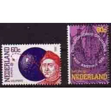 1992 Netherlands Mi.1441-1442 Ships with sails/Columbus/Europa 2,00 €