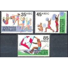 1983 Netherlands Antilles Mi.487-489 Sport 4,60