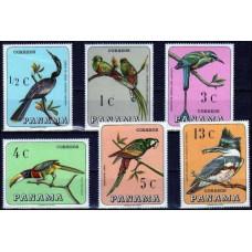 1967 Panama Mi.989-994 Birds 14.00 ?
