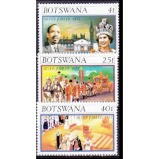 1977 Botswana Mi.179-181 1,20 €