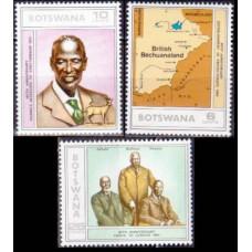1975 Botswana Mi.140-142 2,80 €