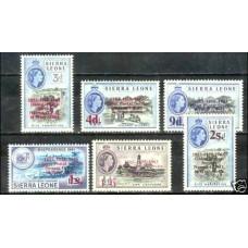 1963 Sierra Leone Mi.239-244** Elizabet II ?